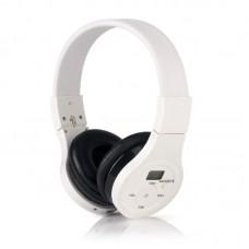 HRD-391 Wireless Bluetooth Portable Bluetooth Music Headset FM Radio Headphones With LCD Display