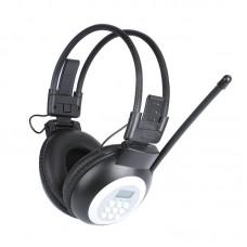 HRD-308S FM Radio Headphones Headset Computer Headphones For Listening Tests Campus Broadcasting