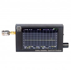 GS-100 Mini Handheld Spectrum Analyzer 35MHz-4400MHz 4.3-Inch TFT Color LCD 480*800 0.5PPM TCXO