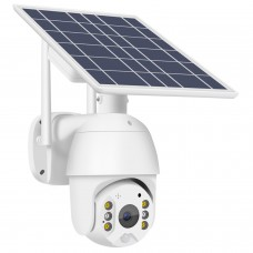 T16 2MP WiFi Solar Camera Rotatable Dome Security Camera Outdoor PTZ Camera For Field Fish Pond
