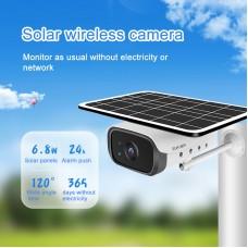 C5 Wifi Solar Camera 2MP Indoor Outdoor Security Camera Wireless Surveillance Camera 120° Wide Angle
