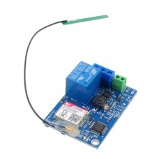 1 Channel Relay Module SMS GSM Remote Control Switch STM32F103CBT6 For Greenhouse Oxygen Pump