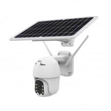 Q5 Wifi Solar Camera 2MP 8W PTZ Camera Dome Camera HD Full Color Wireless Outdoor Security Camera