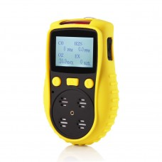 YT-1200H-S4 Portable Gas Detector 4 Gas Meter Gas Analyzer LCD Dot Matrix Display For CO O2 H2S EX
