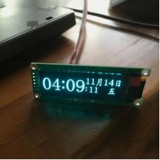 "2.08"" OLED Music Spectrum Display Module Music Audio Spectrum High Brightness Perfect For DIY Uses"