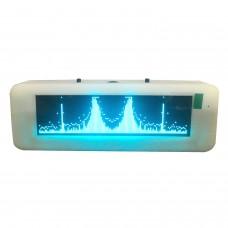"3.12"" OLED Music Spectrum Display Audio UV Meter Vehicle Professional Hifi Spectrum Module Blue"