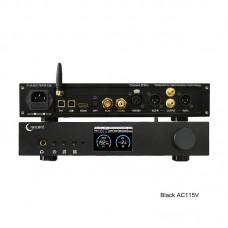 ES9038Pro DAC HiFi DAC Headphone Amplifier DSD Bluetooth Full Balance Decoding EP3Pro Black AC115V
