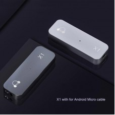 X1 Hifi Portable DAC Headphone Amplifier Lossless DAC Decoder w/ Micro Cable For Android Cellphones