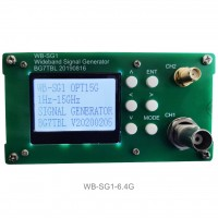 WB-SG1 Signal Generator 1Hz-6.4G RF Signal Source Adjustable Power 10MHz Reference Frequency