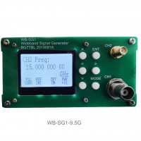 WB-SG1 Signal Generator 1Hz-9.5G RF Signal Source Adjustable Power 10MHz Reference Frequency