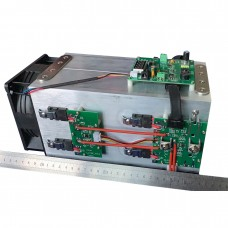 1600W Electronic Load Battery Discharger w/ 12V Power Supply Compatible With 1000W 800W 400W TEC-80K