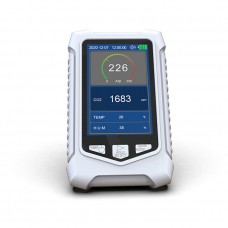 DM126C CO2 Detector Carbon Dioxide Detector Indoor Air Quality Monitor Vehicle Air Quality Detector
