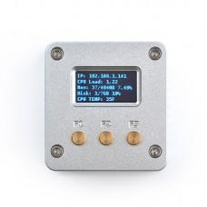 NanoPi NEO V1.4 256MB RAM With 0.96-Inch OLED Display CNC Aluminum Housing For Running Ubuntu