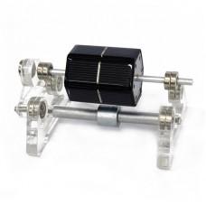 Magnetic Levitation Solar Motor Assembled Creative Magnetic Levitation Ornaments Technology Gift
