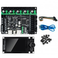 MKS Robin Nano V3 3D Printer Motherboard Kit 168MHz 32Bit MKS TS35 Touch Screen For U Disk SD Card