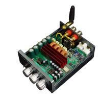 A2-7 100Wx2 Bluetooth 5.0 Amplifier DAC Digital Mini Power Amplifier TPA3126D2 With Treble Bass Knob