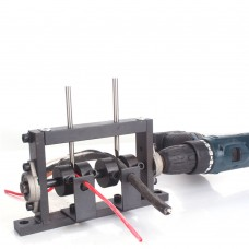 Manual Wire Stripping Machine Wire Stripping Tool Kit w/Two Cutters Perfect For 1-30MM Scrap Cable