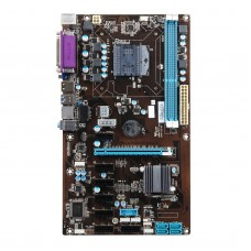 HM65-BTC-P2 Mining Motherboard 8PCIE Onboard CPU For Celeron Fit Eight Graphic Cards Coin Mining