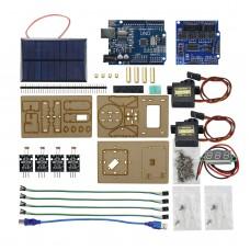 Intelligent Solar Tracking Equipment DIY Programming Demonstration Toys For Arduino (Full Kit)
