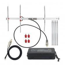 Handheld Yagi Antenna UHF VHF Portable Pocket Yagi Antenna For Outdoor Handheld Walkie Talkie