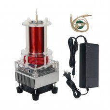 Single-Tube Self-Excited Music Tesla Coil Toy With Excellent Sound Quality DIY Top For Various Arc