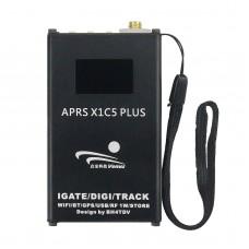 APRS X1C5 Plus APRS Gateway APRS Tracker IGATE WiFi Bluetooth GPS 136MHz-174MHZ With IPS Display