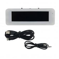 "3.12"" OLED Music Spectrum Display Audio VU Meter Vehicle Professional Hifi Spectrum Module Blue"