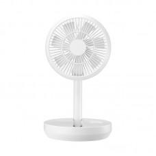 F11 Desktop Min Fan Foldable Outdoor Floor Stand Fan Portable Fan Adjustable Height USB Rechargeable