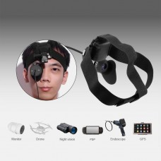 V760A-5 Wearable Head Mounted Display 90-Inch Effect For Security Monitors FPV Aircraft Models