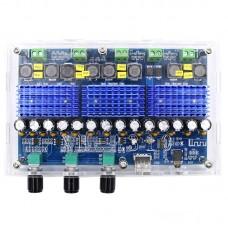 XH-A310 Digital Bluetooth Amplifier Board High Power Amplifier Board TDA3116D2 2*100W + 2*50W