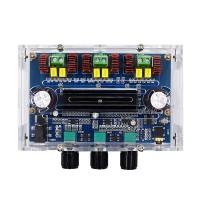 XH-A305K Bluetooth 5.0 Amplifier Board 2.1CH Digital Power Amplifier 100W + 50W*2 TPA3116D2 w/ Shell