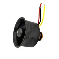 QF2611-3500KV 55MM Ducted Fan Motor 6-Blade EDF Brushless Motor High-Speed Outer Rotator For Drone