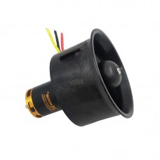 QF2822-4300KV 64MM Ducted Fan Motor 5-Blade EDF Model Airplane Brushless Motor For RC Drone