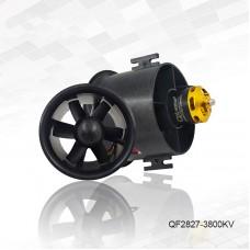 QF2827-3800KV 70MM Ducted Fan Motor 6-Blade EDF Motor Airplane Brushless Motor For RC Drone UAV