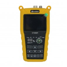 "VF-6800P Digital Satellite Finder Signal Meter DVB-T2 DVB-S2 DVB-C Satellite Receiver 2.4"" Color LCD"