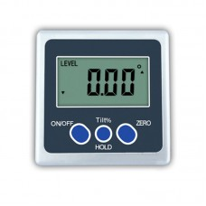 One-Axis Digital Angle Protractor High Precision Inclinometer 4x90° One Magnetic Side Metal Shell