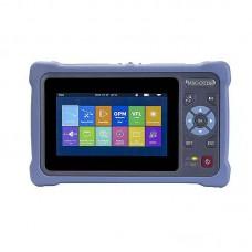 "OTDR-4000S Mini-OTDR 100KM Optical Time Domain Reflectometer Kit 1550NM 24DB w/ 4.3"" Touch Screen"