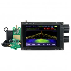 Thicker 50KHz-200MHz Malachite SDR Receiver DSP Malahit Without Registration Code + Mini-Whip Antenna