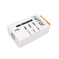 USB_CAN-2C USB CAN Adapter USB To CAN Adaptor Dual-channel Industrial Isolation Suitable For ZLG