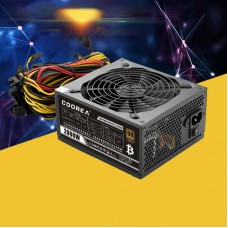 2000W Computer Power Supply Dedicated Server Power Supply Rated 1800W Support 8PCS Graphic Cards