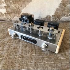 6N2 6P1 Tube Amplifier Assembled Tube Rectifier Power Amplifier w/ Bluetooth DAC Decorder Board