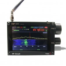 Thicker 50KHz-2GHz Malachite SDR DSP Malahit SDR Receiver w/ Official Authorized Registration Code