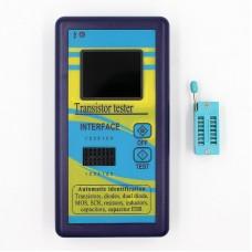 "M328 Transistor Tester Meter Diode Resistor Inductor Capacitor ESR Meter With 1.8"" TFT Color Display"