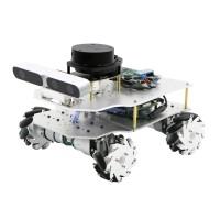 Mecanum Wheel ROS Car Robotic Car No Voice Module w/ A2 Radar ROS Master For Raspberry Pi 4B 2GB