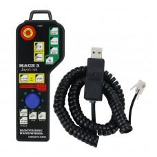 Mach3 6 Axis USB Joystick Rocker Handheld Electronic Handwheel for CNC Carving Machine