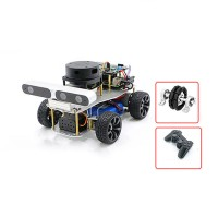 Ackerman/Differential ROS Robotic Car No Voice Module w/ A1 Customized Radar For Raspberry Pi 4B 2GB