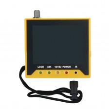 "KPT-356H HD Digital Satellite Finder Signal Meter DVB-S2 Satellite Receiver Multifunction 3.5"" LCD"