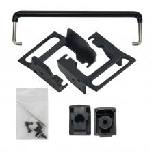 BFK-5 Desk Stand Frame Kit Original Panel Bracket For Xiegu G90S Panel Head-up Support Frame Kit
