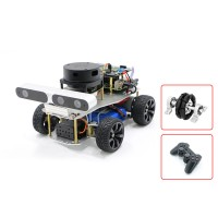 Ackerman/Differential ROS Robotic Car Voice Module A1 Standard Radar Master For Raspberry Pi 4B 2GB