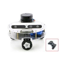 Omni Wheel ROS Car Robotic Car No Voice Module w/ A1 Customized Radar Master For Raspberry Pi 4B 2GB